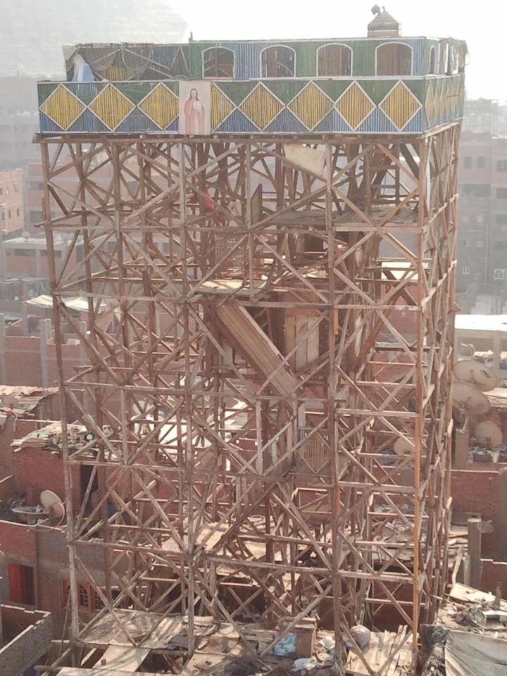 تبلغ أرتفاع برج خمام -مجدى الشهير ب كوكا - حوالى 20 متر